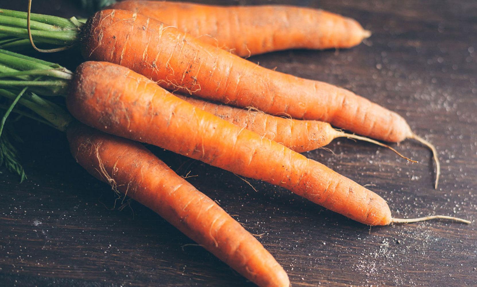 wortels gezond voor huid