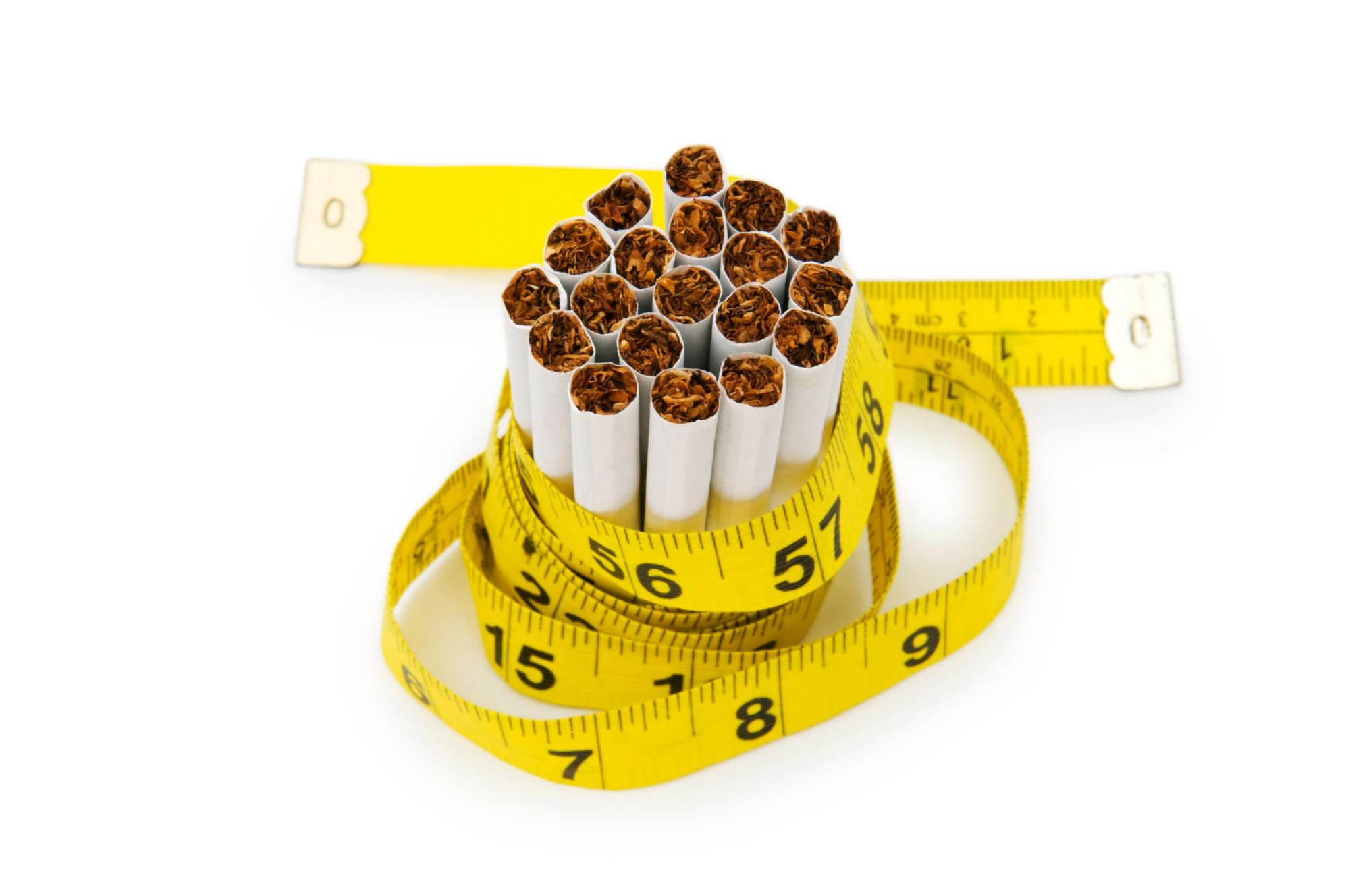 Stoppen met roken zonder aankomen