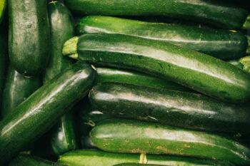 Courgettes; zo gezond zijn ze!
